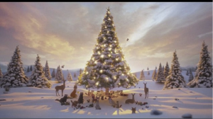 John Lewis Christmas ad  Retrieved from http://www.dailymail.co.uk/video/video-1067741/John-Lewis-Christmas-Advert-2013-The-Bear--The-Hare.html