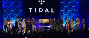 Tidal launch event on March 30, 2015.